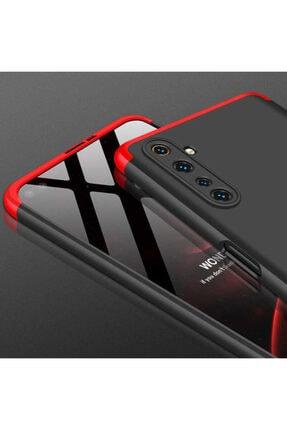 BizimGross Oppo Realme 6 3 Parça Tam Koruma Kılıf + 5d Tam Kaplayan Ekran Koruyucu 3