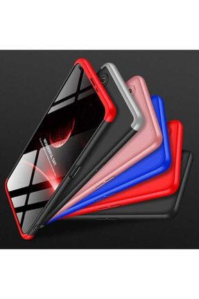 BizimGross Oppo Realme 6 3 Parça Tam Koruma Kılıf + 5d Tam Kaplayan Ekran Koruyucu 4