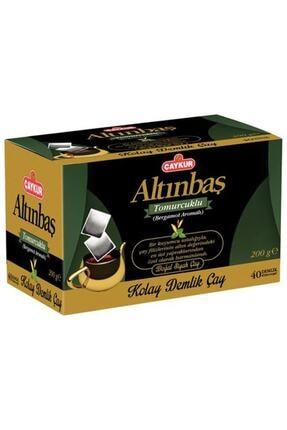 Çaykur Altınbaş Demlik Poşet Çay Bergamot Aromalı 40 Adet 0