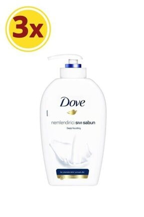 Dove Nemlendirici Sıvı Sabun 500 Ml X 3 Adet 0