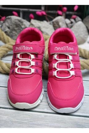 Trendway Kız Çocuk Pembe Spor Ayakkabı 1