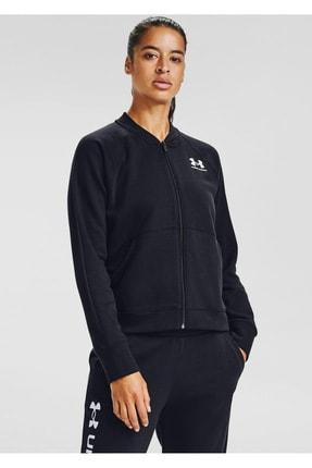 Under Armour Kadın Spor Sweatshirt - Rival Fleece Jacket - 1358148-001 2