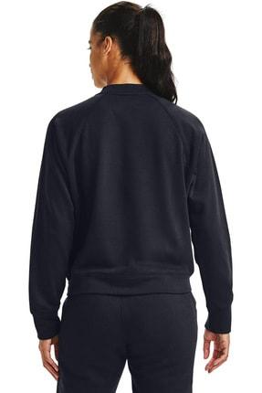 Under Armour Kadın Spor Sweatshirt - Rival Fleece Jacket - 1358148-001 3