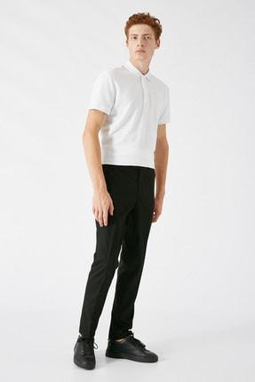 Koton Erkek Siyah Desenli Jeans 1KAM49540KW 1