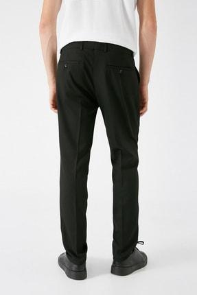 Koton Erkek Siyah Desenli Jeans 1KAM49540KW 3