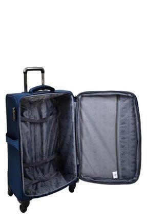 US Polo Assn Unisex Lacivert  Valiz Orta Boy Kumaş Valiz 4