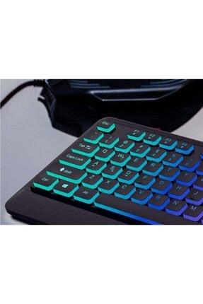 Philips Spk8274 Usb Q Multimedia Klavye Gaming Klavye Ledli Gökkuşağı Aydınlatmalı Oyuncu Klavye 1