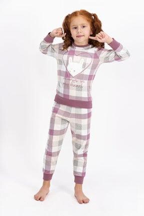 Arnetta Anne Kız Kombin Somon Pijama Takım 901 2