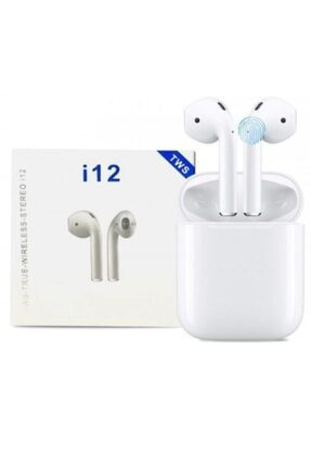 Tws J55 I12 Beyaz I12 Bluetooth V5.0 Kablosuz I12 Iphone Uyumlu Bluetooth Kulaklık Hd Ses Kalitesi 0