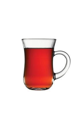 Paşabahçe 55411 Sade Keyif Kulplu Çay Bardağı 140 Cc 6 Lı 1