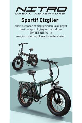 Nitro Skyjet Katlanabilir Elektrikli Bisiklet 3