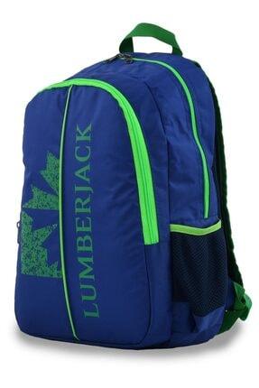 Lumberjack 8504 Sırt Çantası Lacivert-yeşil 1
