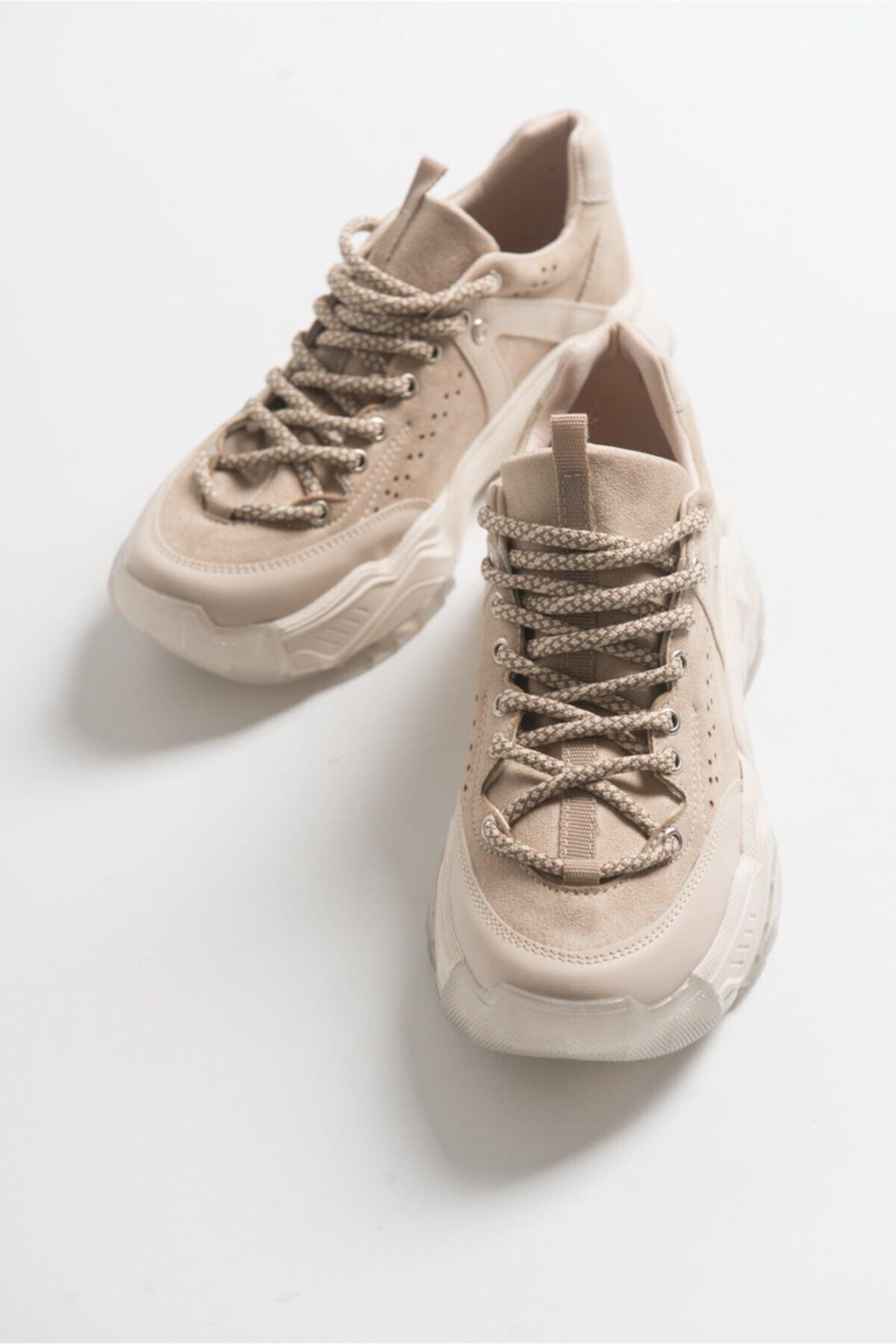 Kadın Bej  Spor Ayakkabı 65119