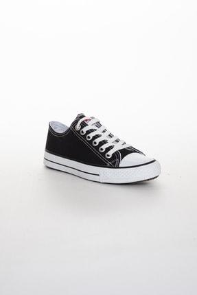 Odal Shoes Unisex Siyah Ortopedik Şeritli Sneakers Cnvrs3579746 2