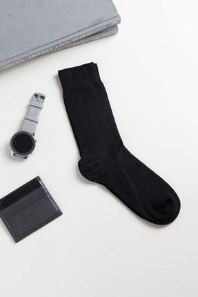 تصویر از Bamboos Bambu Erkek Çorap Siyah