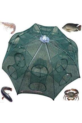 AKTEPE Balık Tuzağı 16 Cepli Büyük Boy Balık Yakalama Filesi Balık Ağı 0