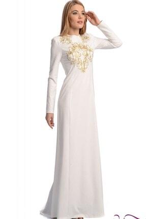 Altın İşlemeli Elbise anglnelbs