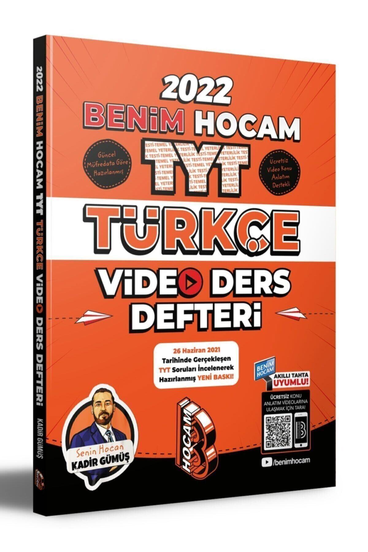 2022 Tyt Türkçe Video Ders Defteri