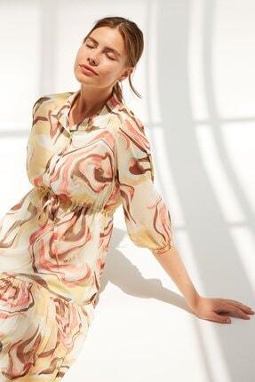 Beli Bağcıklı Elbise Y21EL303