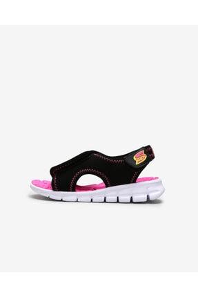 Skechers Küçük Kız Çocuk Siyah Sandalet 0