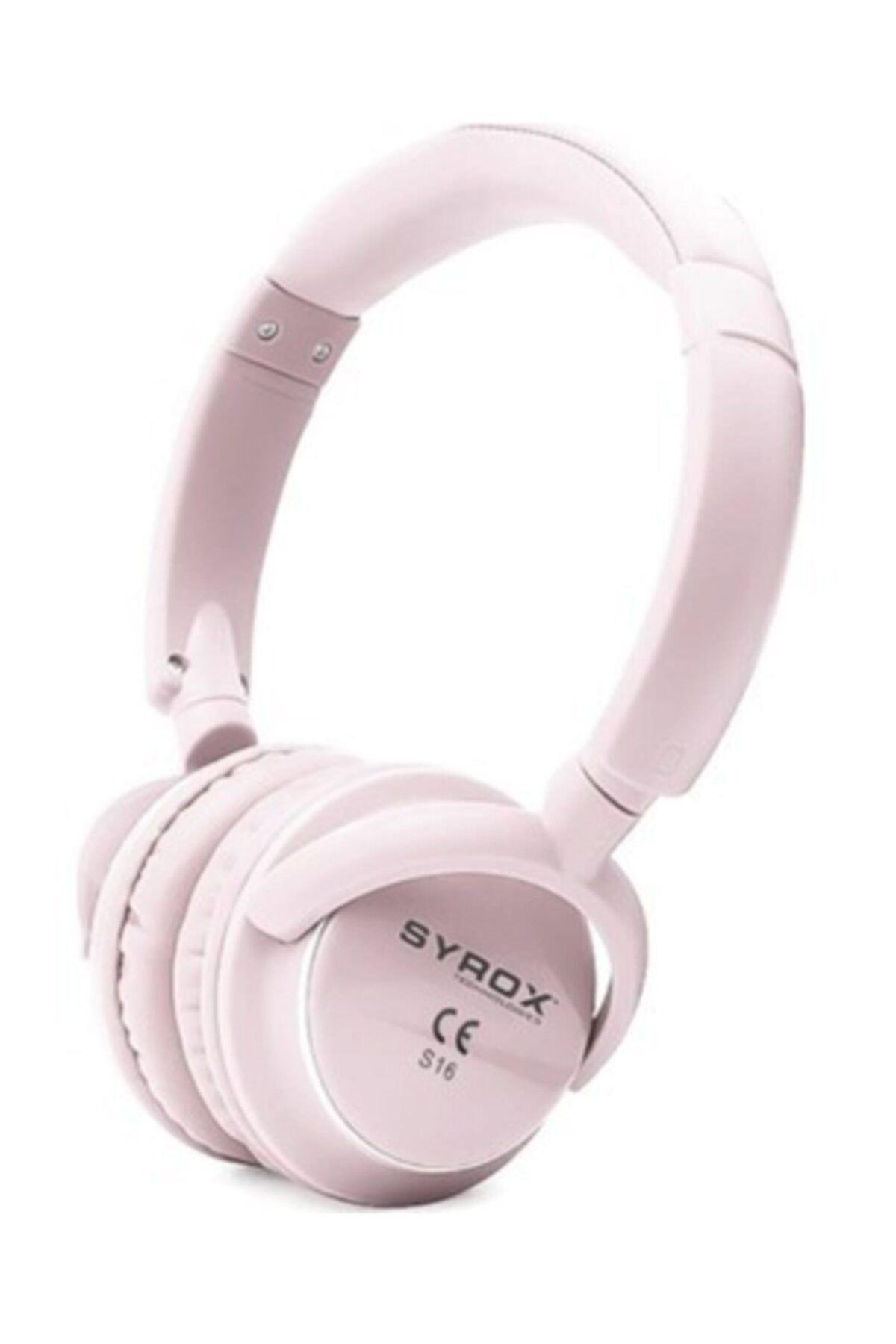 S16 Kablosuz Hafıza Kartlı Bluetooth Kulaklık - Syx-s16