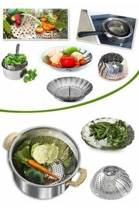 YAKUT Buharda Sebze Pişirme Sepeti Haşlama Aparatı 0