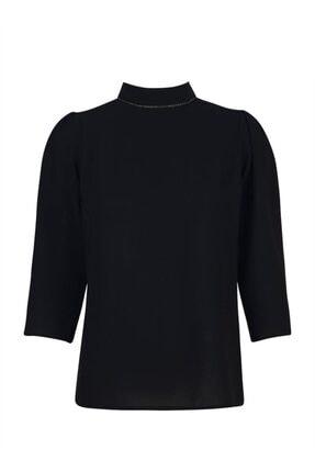 Chima Yakası Taşlı Bluz 2