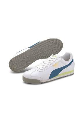 Puma Roma Basic White Digi Blue Günlük Spor Ayakkabı 0