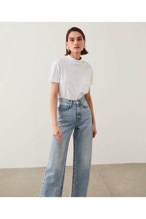 İpekyol Kadın Mavi Super High Rise Wide Leg Fit Jean Pantolon IS1210018023 1