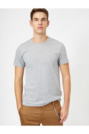 Koton Erkek Bisiklet Yaka T-shirt 1