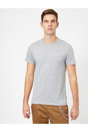 Koton Erkek Bisiklet Yaka T-shirt 2