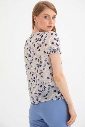 Chima Kadın Bej Önü Bağlamalı Gömlek 3
