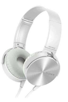 OKMORE Kafa Üstü Telefon Oyun Kulaklığı Extra Bass Stereo Beyaz 0