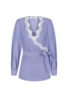 İpekyol Dantel Şeritli Bluz 4