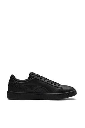 Puma SMASH V2 L JR Siyah Erkek Çocuk Sneaker Ayakkabı 100346457 1