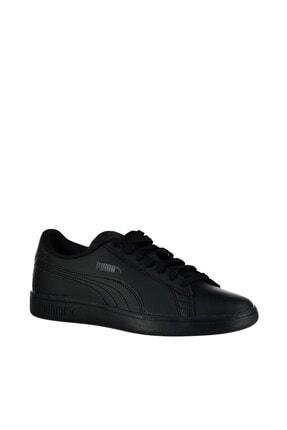Puma SMASH V2 L JR Siyah Erkek Çocuk Sneaker Ayakkabı 100346457 3