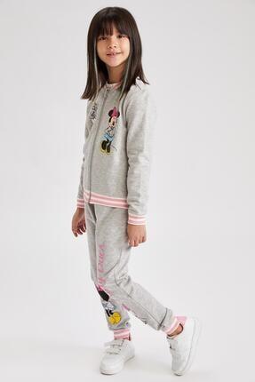 Defacto Kız Çocuk Daisy Duck Jogger Eşofman Altı 0