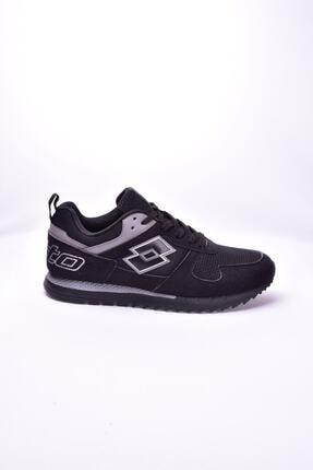 Lotto Erkek Sneaker Siyah Runner Plus Msh-t1694 0
