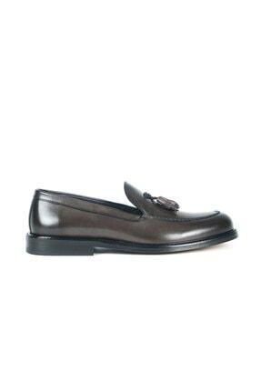 Deri Püsküllü Erkek Klasik Ayakkabı KEMAL-TANCA-624-12254