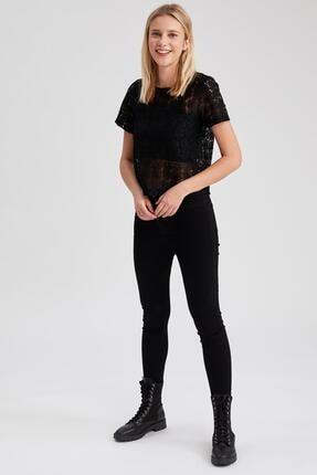 Defacto Anna Ankle Yüksek Bel Skinny Fit Jean Pantolon 4