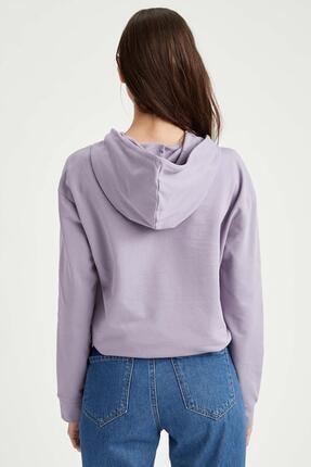 Defacto Kapüşonlu Relax Fit Sweatshirt 3