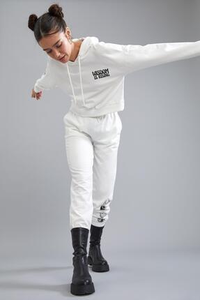 Defacto Coool Kapüşonlu Baskılı Relax Fit Sweatshirt 1