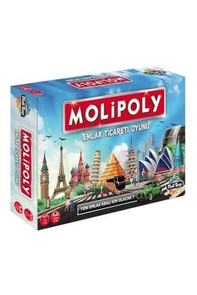 Moli Toys Molipoly Emlak Ticareti Oyunu 2