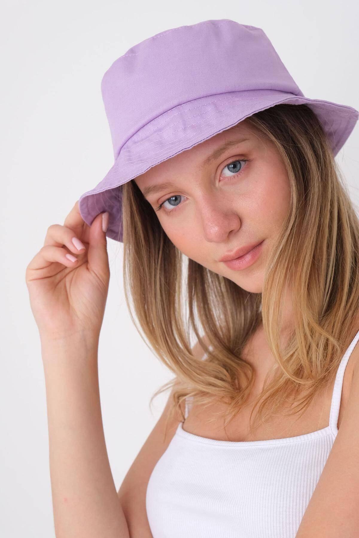 Addax Kadın Lila Şapka Şpk507 - H13 Adx-0000021483