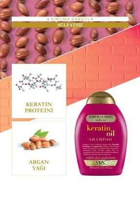 OGX Kırılma Karşıtı Keratin Oil Sülfatsız Şampuan 385 ml 3
