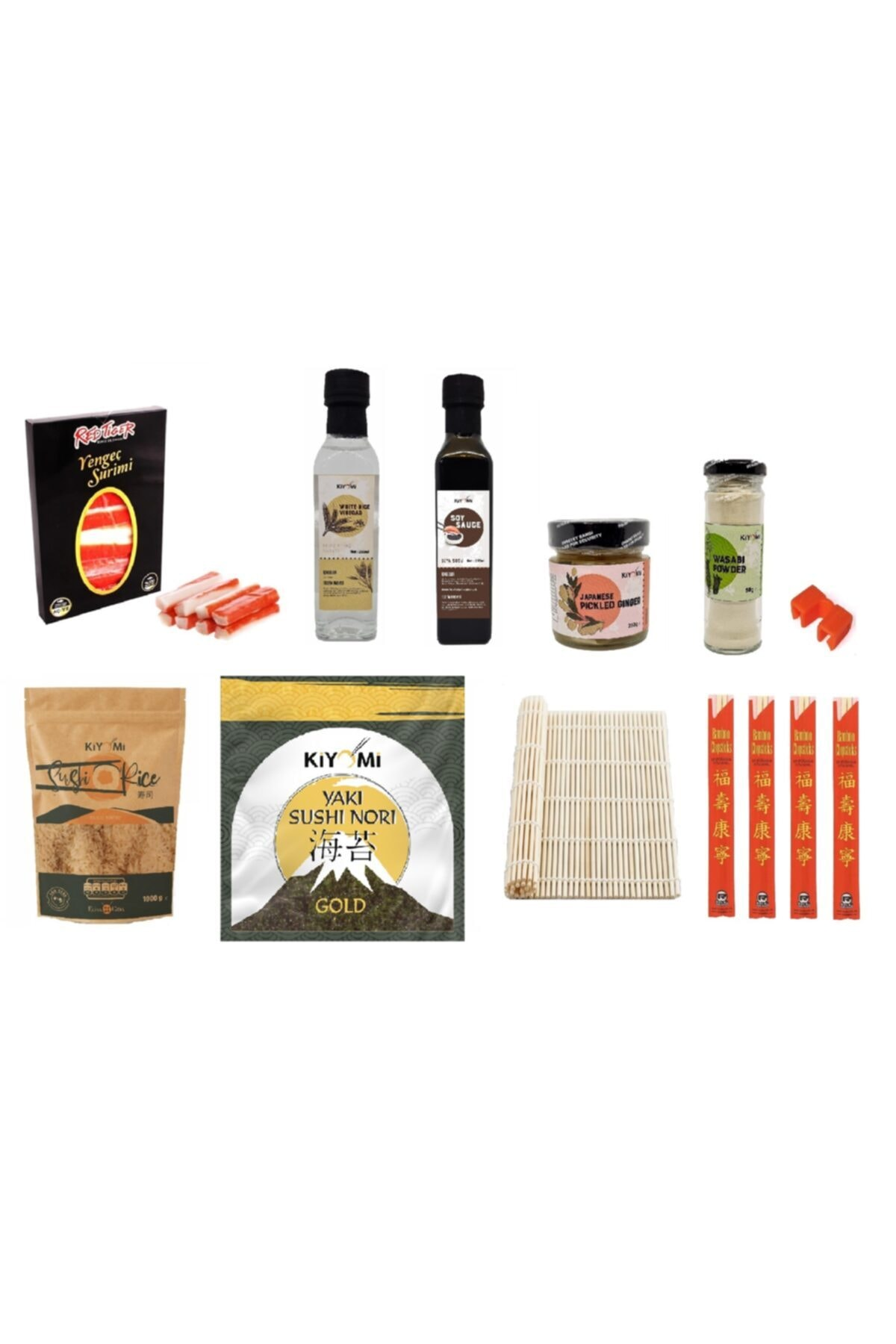 Premium Sushi Seti /Suşi Set (Videolu Anlatım)