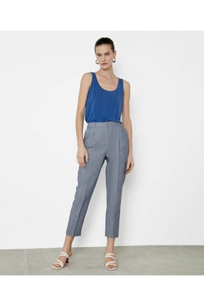 İpekyol Çizgili Pantolon 3