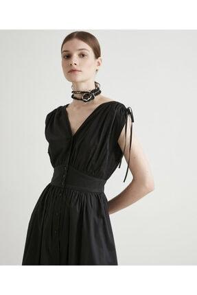 İpekyol Bel Vurgulu Poplin Elbise 1