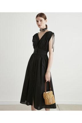 İpekyol Bel Vurgulu Poplin Elbise 2