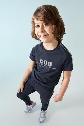 Defacto Erkek Çocuk Reflektör Baskılı Jogger Eşofman Altı 1